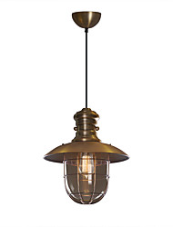 cheap -1-Light HEDUO 33 cm Adorable Pendant Light Metal Glass Traditional / Classic / Nordic Style 110-120V / 220-240V