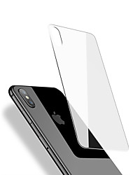 cheap -Full Screen Cover 9H Hard Back Screen Protector Tempered Glass For iPhone X Dorsal membrane