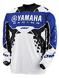 cheap -Motorcycle Jersey 16 Yamaha racing speed surrender T-shirt summer long sleeve top motorcycle mountain bike cross-country speed surrender