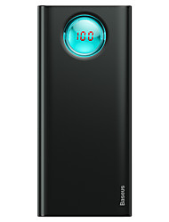 abordables -baseus amblight chargeur rapide digitaldisplay power bank pd3.0qc3.0 20000mah noir