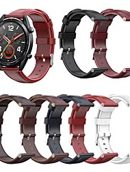 cheap -Watch Band for Huawei Watch GT / Huawei Watch GT 2 Huawei Business Band Genuine Leather Wrist Strap