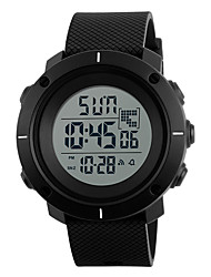 cheap -Men's Sport Watch Digital Outdoor Water Resistant / Waterproof Digital Black / Blue Black Black / Red / Two Years / Rubber / Japanese / Chronograph / Stopwatch