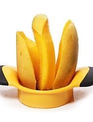 Недорогие -1 шт. Манго сплиттер ломтик фруктов резак Pitter ремесло кухня инструмент резак персик фрукты сплиттер большой манго резак для удаления ямы