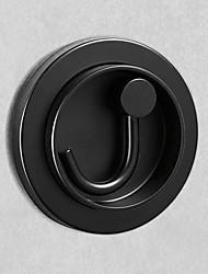 cheap -Door Back Coat Hook Wall Bathroom Stainless Steel Double Hook Toilet Clothes Hook