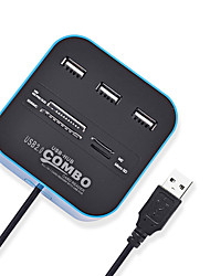 cheap -LITBest USB 2.0 combo USB 2.0 to USB 2.0 / SD Card USB Hub 7 Ports with Card Reader(s)