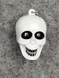 Недорогие -белый скелет свет привел со звуковыми эффектами брелок