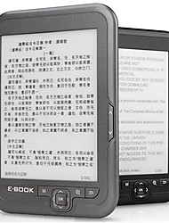 cheap -LITBest 4/8/16G E-ink E Book Linux Reader Ebook 3.5mm Headphone Eink Screen E-Book E-Reader with case MP3 WMA PDF HTML