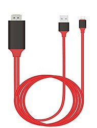cheap -USB 3.1 - HDMI 2.0 / USB 3.1 Male - Female 2.0m(6.5Ft)