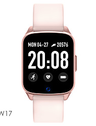 cheap -KW17 Smartwatch BT Fitness Tracker Support Notify/ Heart Rate Monitor for Samsung/ Apple/ Android Phones