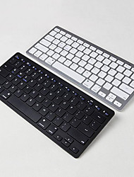 cheap -Ultra Thin Portable Standard 78-Key Wireless Bluetooth Keyboard for Ipad Iphone MAC PC