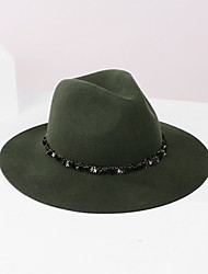 cheap -100% Wool Hats with Paillette 1pc Casual / Daily Wear Headpiece