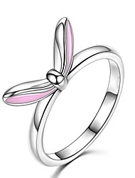 cheap -Women's Ring 1pc Silver Silver-Plated Alloy Daily Jewelry Rabbit Cute
