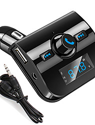 cheap -New Car Mp3 Bluetooth Player Car Bluetooth Hands-free FM Transmitter Car Bluetooth Mp3