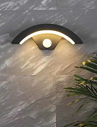 cheap -Waterproof Modern Outdoor Wall Lights Outdoor Lights Living Room Outdoor Aluminum Wall Light IP65 Generic 12 W