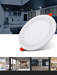cheap -LED Embedded Round Panel Lamp 15W Thin Alloy Gusset Down Lamp Ceiling Hole Dark Panel Lamp