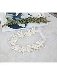 cheap -Crystal / Imitation Pearl / Rhinestone Headdress with Imitation Pearl / Crystal / Rhinestone 1 Piece Wedding Headpiece