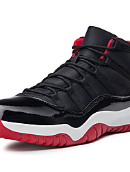 cheap -Women's Athletic Shoes Flat Heel Round Toe Synthetics Classic / Vintage Basketball Shoes Spring & Summer / Fall & Winter Black / Red / White / Blue