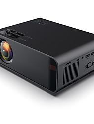 Недорогие -W80 HD домашний проектор Поддержка HDMI / AV / USB / SD / VGA Dolby Sound Базовое издание Поддержка регулирования евро 4K видео Beamerful люмен HD