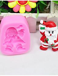 Недорогие -1шт Формы для пирожных Новогодняя тематика силикагель Формы для пирожных Печенье