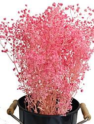 abordables -1 bébé bébés respiration fleurs artificielles bouquets de gypsophile fleurs de toucher réel pour le mariage maison bricolage décor