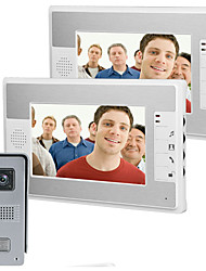 cheap -MOUNTAINONE SY813FKID11 Wired & Wireless Built in out Speaker 7 inch Hands-free One to One video doorphone