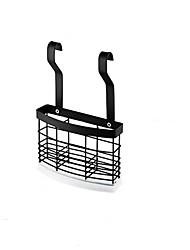 cheap -Design Black Stainless Steel Chopsticks Box Wall-Mounted Kitchen Cutlery Storage Rack