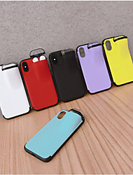 cheap -Apple 11 Mobile Phone Case Storage Bluetooth Headset 11Pro Max Net Red With the XS Max Personality Creative 6/7/8Plus Multi-purpose Mobile Phone Sets Couple Models Mobile Phone Protective Cover