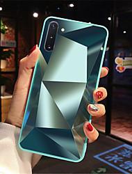 cheap -Case For Samsung A90/A80/A70/A60/A50/A40/A30/A20/A10 Shockproof / Mirror Back Cover Geometric Pattern Acrylic
