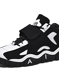 cheap -Men's Comfort Shoes PU Fall Athletic Shoes Basketball Shoes Black and White / Black / Red / Purple