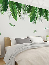 cheap -Floral & Plants Wall Stickers Bedroom, Pre-pasted PVC Home Decoration Wall Decal60x90cm