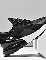 cheap -Men's Comfort Shoes Mesh Fall & Winter Athletic Shoes Running Shoes Black / Black and White / Purple