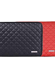 cheap -13.3 Inch Laptop / 14 Inch Laptop / 15.6 Inch Laptop Sleeve PU Leather Geometic / Leather for Business Office for Colleages & Schools for Travel Water Proof Shock Proof