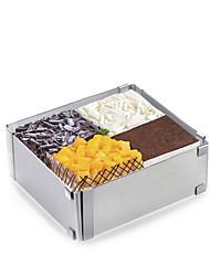 Недорогие -1 шт. Из нержавеющей стали новое прибытие 3d творческий овощной сырный торт формы для выпечки инструменты