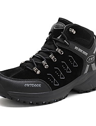 cheap -Men's Comfort Shoes PU Fall & Winter Athletic Shoes Hiking Shoes Booties / Ankle Boots Black / Brown / Green