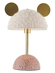 cheap -Lovely Table Lamp Artistic Reading Light Fluffy Bear Shape Blush Pink Glod Soft White For BedRoom Stay at Home Lighten Up Your Mood 220V / 110V