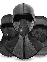 cheap -CoolChange Balaclava Thermal / Warm Windproof Breathable Rain Waterproof Warm Bike / Cycling Black Dark Grey Black / Silver Lycra Winter for Men's Women's Adults' Ski / Snowboard Motobike