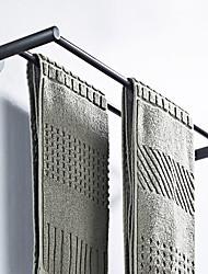 Недорогие -Держатель для полотенец Новый дизайн Modern Латунь 1шт - Ванная комната / Гостиничная ванна 2-х опорная балка На стену