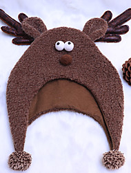 cheap -Reindeer Hat Boys' Kid's Costume Party Christmas Christmas Fabric Hat