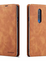 cheap -Luxury Leather Magnetic Flip Case for OnePlus 7 OnePlus 7 Pro