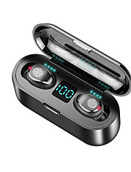 cheap -LITBest F9 TWS True Wireless Earbuds Wireless Earbud Bluetooth 5.0 Noise-Cancelling Stereo Dual Drivers