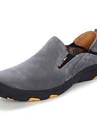 cheap -Men's Comfort Shoes Leather Fall & Winter Loafers & Slip-Ons Purple / Yellow / Gray