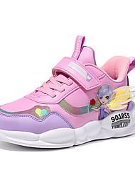abordables -Fille Confort Polyuréthane Chaussures d'Athlétisme Grands enfants (7 ans et +) Course à Pied Violet / Rose Automne
