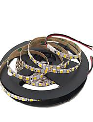 Недорогие -5 метров Гибкие светодиодные ленты 600 светодиоды 2835 SMD 4мм 1шт Тёплый белый / Белый / Красный Декоративная 12 V