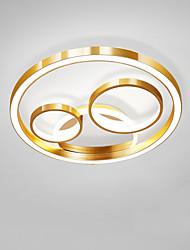 cheap -45 cm CONTRACTED LED® 3-Light Novelty Flush Mount Lights Ambient Light Painted Finishes Metal LED, New Design 110-120V / 220-240V Warm White / Cold White