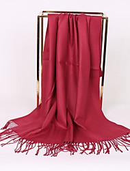 Недорогие -Универсальные Для вечеринки / Классический / Симпатичные Стиль Прямоугольный платок - Однотонный