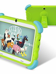 cheap -ZONKO K78 Kids Learning Tablet Babypad Full Silicone Protective Preinstalled Infant Education Apps 7inch Android 8.1 1024 x 600 Quad Core 1GB Ram 16GB Rom Support TF Card