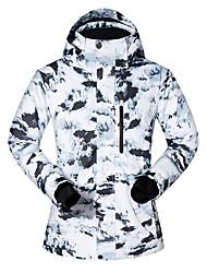cheap -MUTUSNOW Men's Ski Jacket Skiing Snowboarding Winter Sports Waterproof Windproof Warm Polyester Jacket Ski Wear