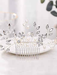 cheap -Alloy Hair Combs / Headdress with Imitation Pearl 1 Piece Wedding / Special Occasion Headpiece