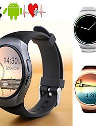 cheap -Couple's Smartwatch Digital Stylish Black / White / Gold 30 m Heart Rate Monitor Bluetooth Smart Digital Fashion - Black White Gold One Year Battery Life