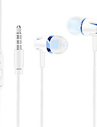 cheap -LITBest E18 Wired In-ear Earphone Wired Mobile Phone Stereo with Microphone with Volume Control